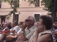 イタリア人の観客